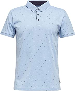 Esprit - Polo para hombre azul claro S: Amazon.es: Ropa y accesorios