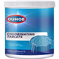 Pool & Spa Chlorine Tablets Small Chlorine Tablets Pool Spa Hot Tub, for Pools Over 5000 Gallons, Prevent Sunlight for…