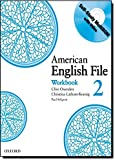 American English File 2 Workbook: with Multi-ROM