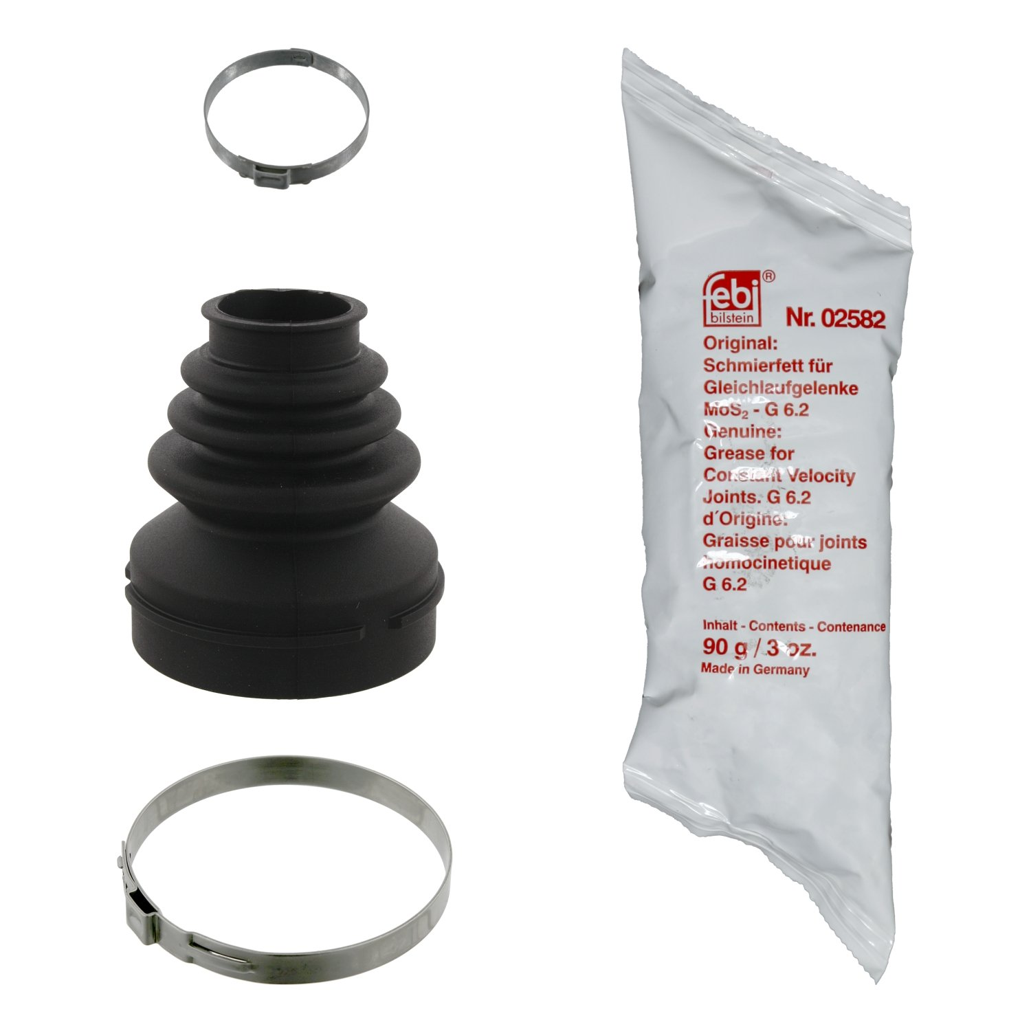 pack of one febi bilstein 31056 CV Boot Kit