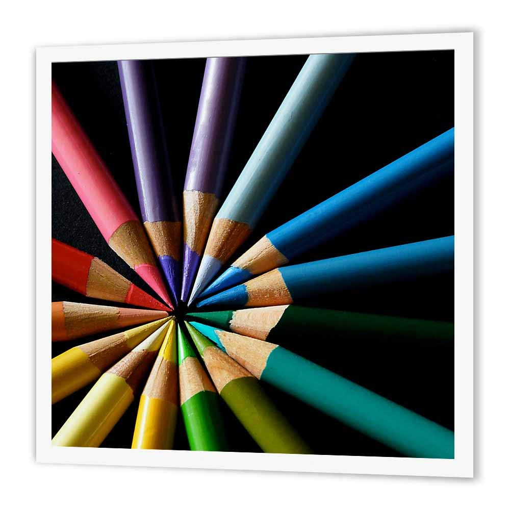 3dRose ht_20536_2 色鉛筆 カラーホイール アイロン熱転写 15.24×15.24cm   B00541I4B2