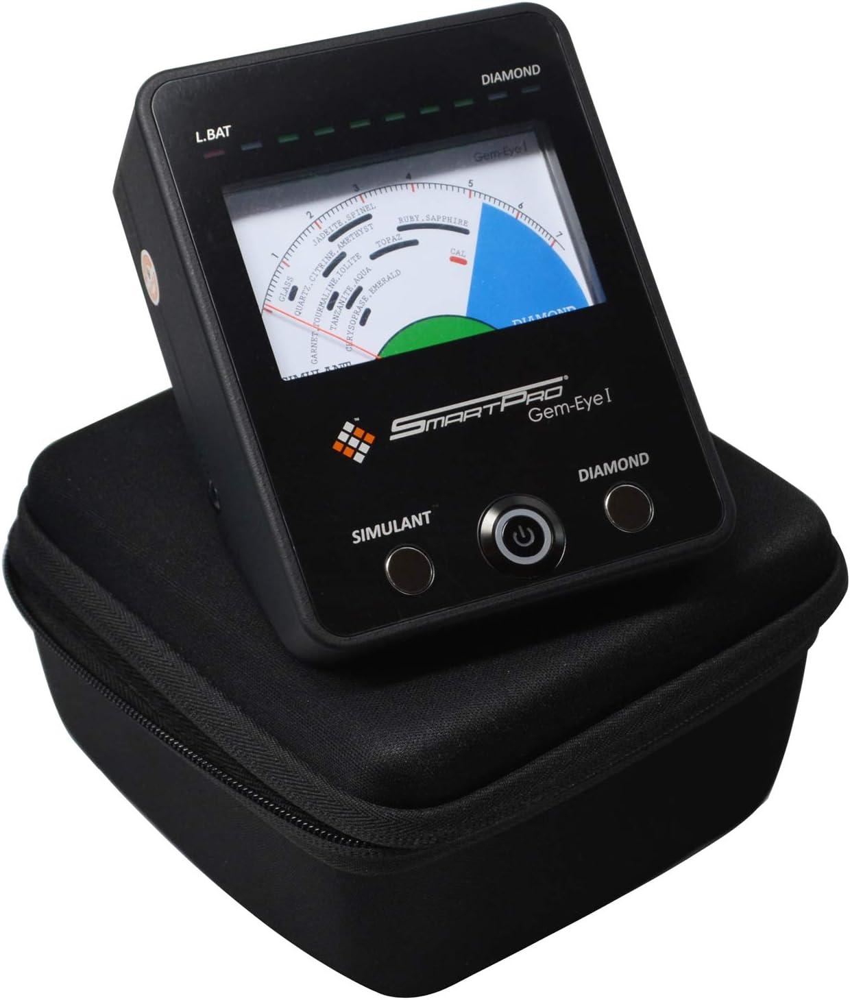 Simulant Electric Tester Inspection Tool Set SmartPro Gem-Eye I SPGE-1 Diamond Gemstone Vs