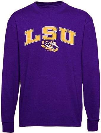 LSU Tigres Camisa Camiseta Sombrero Bandera Universidad mercancía de fútbol para Prendas de Vestir