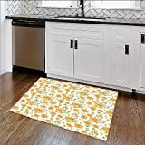 Soft Non Slip Absorbent Bath Rugs Sand From Window Of Spain ach Distant Hill Plants Sand Touristic Bathroom Machine Washable Large Mats Materials W30''xH18''