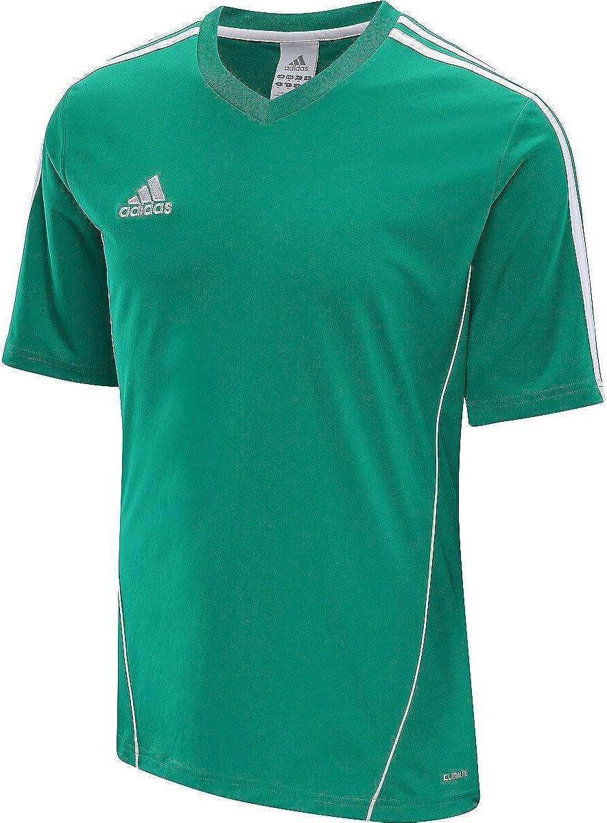 repertorio Circulo hierro  Amazon.com: Adidas Estro 12 Soccer Jersey White/Black - Estro Soccer  Replica Jersey: Clothing