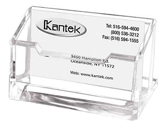 Amazon kantek acrylic business card holder fits 80 business amazon kantek acrylic business card holder fits 80 business cards clear 4 x 1 78 x 2 inches ad30 office products colourmoves