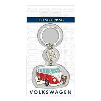 Amazon.com: Oficial Volkswagen VW Campervan Sliding llavero ...