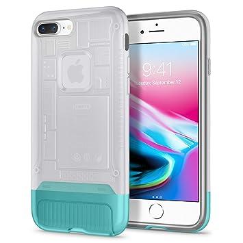 competitive price 1fe4b 7bc1d Spigen, iPhone 8 Plus Case, Classic C1, Snow, iMac 20th: Amazon.co ...