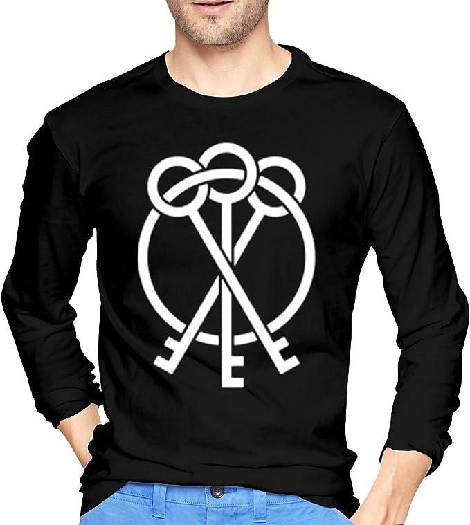 Amazon.com: Mens Tshirt Classic Long Sleeve Shirts for Men ...