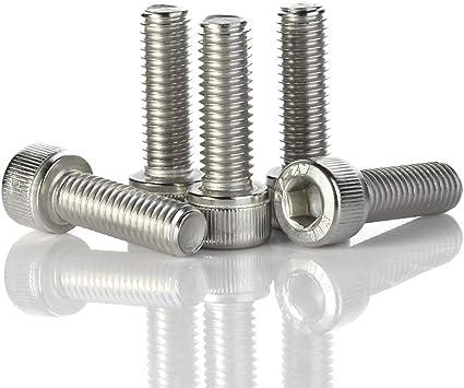 18-8 1//4-20 x 1-1//4 Flat Head Socket Cap Screws Stainless Steel A2-70 Quantity 25
