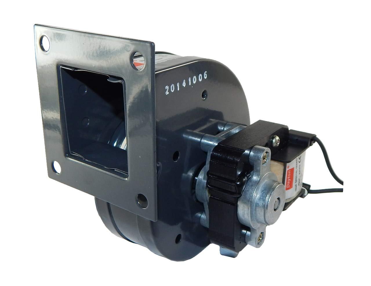 Dayton Rectangular OEM Blower With Flange, Voltage 115, 3233 RPM, Wheel Dia. 2-15/16'' - 1TDN3