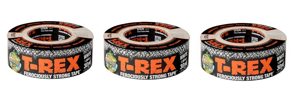 T-REX 240998 Ferociously Strong Tape, 1.88 inches x 35 Yards, Waterproof Backing, Dark Gunmetal Gray, Single Roll (3-Roll, 35 Yards x 1.88, Grey)