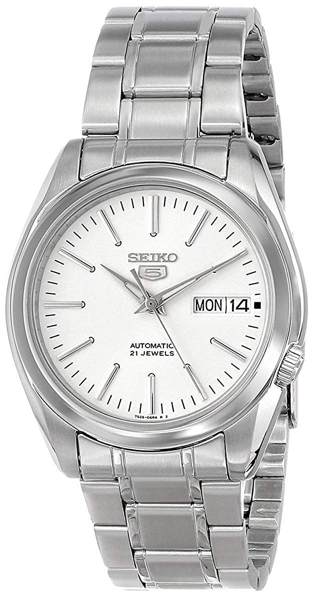 new arrival 88675 26e9c Seiko Unisex-Adult Analogue Classic Automatic Watch with Stainless Steel  Strap SNKL41K1