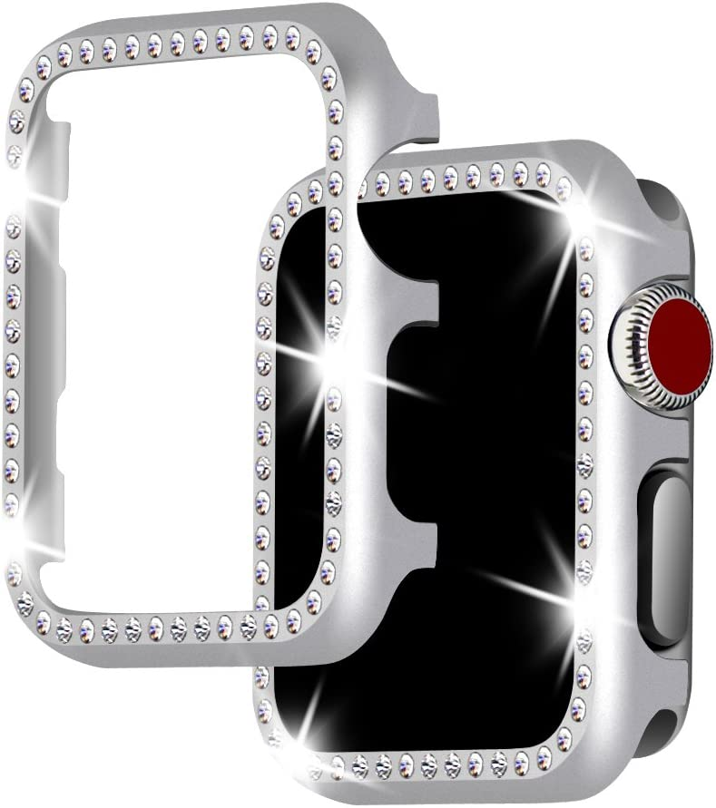 Funda Falandi Para Apple Watch 38mm Series 5/4/3/2/1 silver