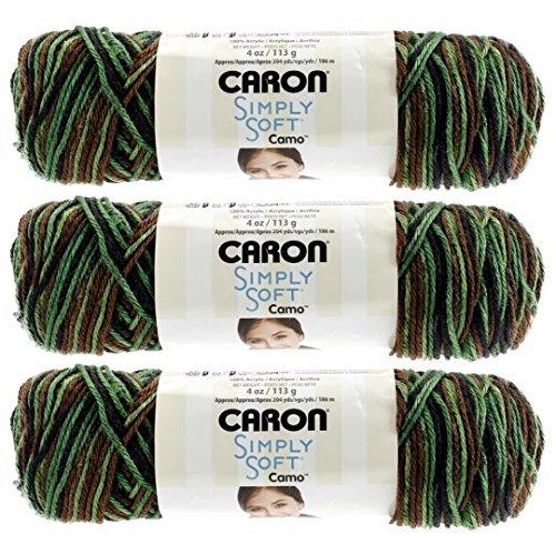 Simply Soft Camo Yarn-Renegade - Yarn Camo