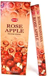 1 X Rose Apple - 120 Sticks Box - HEM Incense