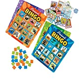 Bargain World Animal Recognition Bingo (With Sticky Notes)