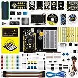 KEYESTUDIO for Arduino Starter Kit with Mega 2560 R3 and Holder (Also Available for Arduino UNO R3 Arduino Nano Pro Micro Mini Raspberry Pi