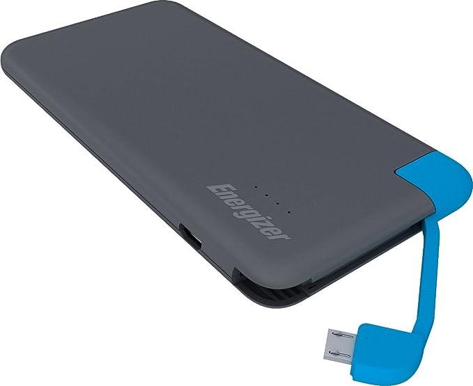 Energizer Batería Externa 4000mAh Slim Power Bank con Cable Micro ...