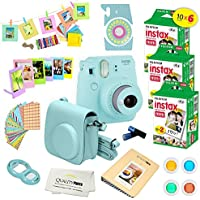 Fujifilm Instax Mini 9 Instant Camera ICE BLUE w/...