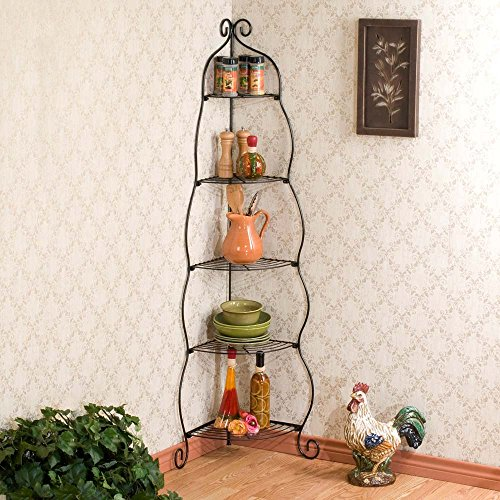 Review Holly & Martin Oakley Corner Etagere Black 53-181-026-4-01 By Holly & Martin by Holly & Martin