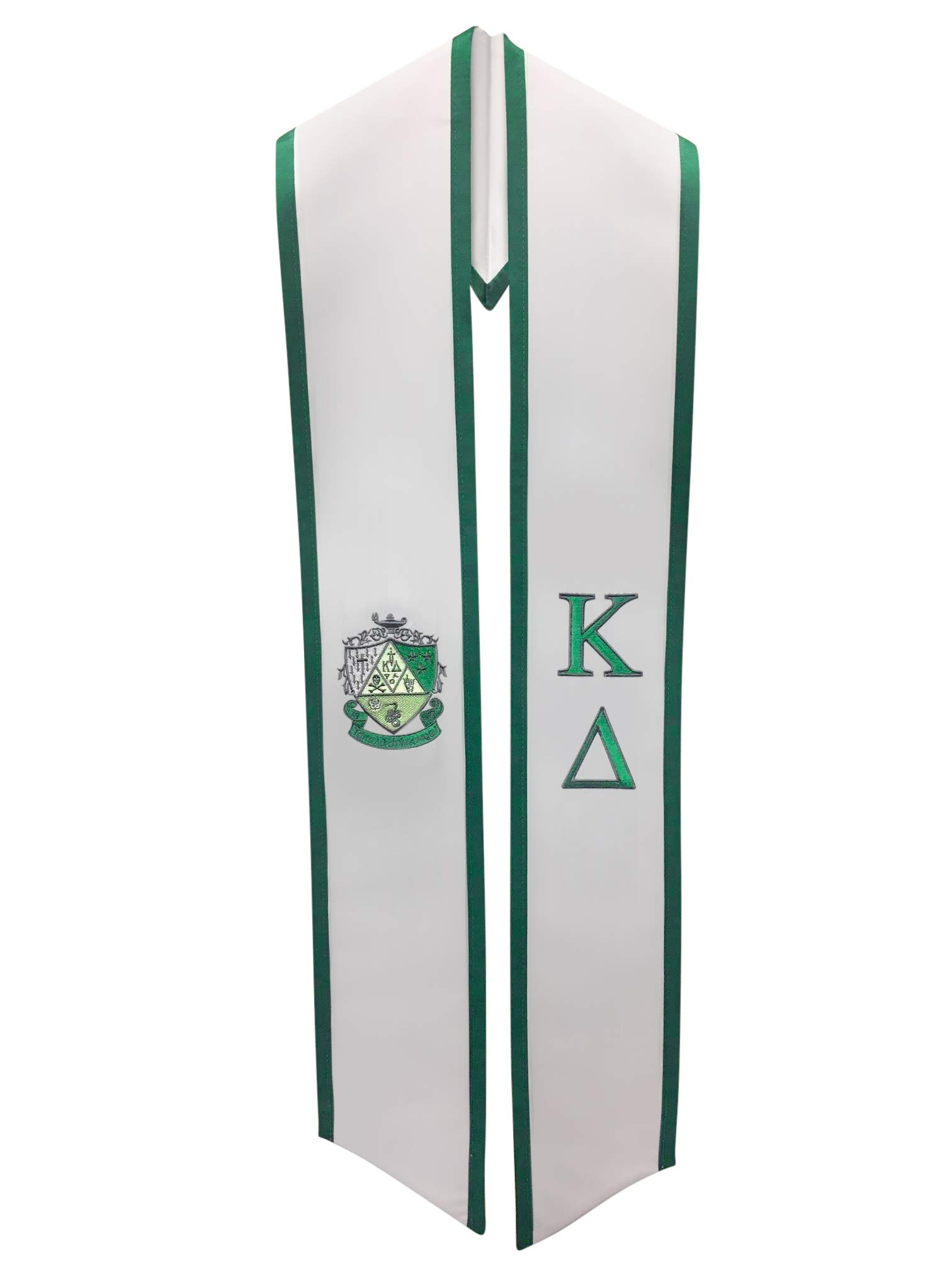 Kappa Delta Sorority Deluxe Embroidered Graduation Stole