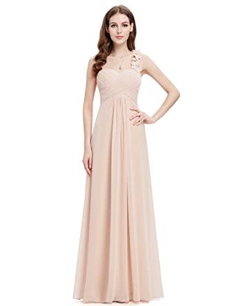 Ever Pretty Womens Semi Formal Wedding Guest Dress 16 Us Nude