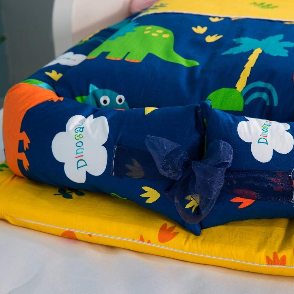 Oreiller Couffin de Voyage Portable 3PCS D/étachable B/éb/é Cocon Pod de Couchage Coton de Lit De B/éb/é Miyanuby Nid Dange B/éb/é Lit bebe Courtepointe Couverture