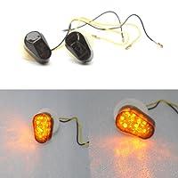 Endon Lighting Plafonnier à LED clignotant pour entre 2002 et 2008 Fumé YAmAhA R1 R6S 04 03 05 06 07 08