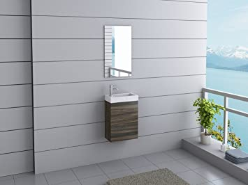 Moderne Gäste Wc badmöbel california gäste wc waschtisch set 11 moderne farben