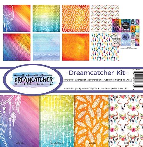Reminisce DC-200 Dreamcatcher Scrapbook Collection Kit