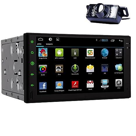 EINCAR doble DIN en el tablero universal Jefe Unidad de coches reproductor de DVD GPS de