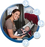 FlyeBaby Infants Airplane Comfort System (Grey)
