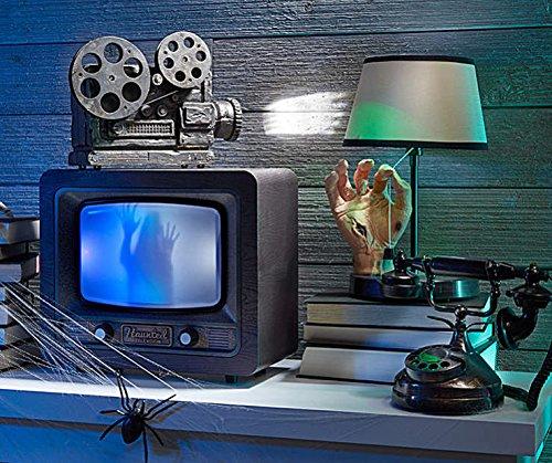 Midnight Manor Sound-Activated Haunted TV ()