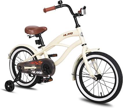 JOYSTAR Kids Bike with Basket /& Training Wheels for 2-6 Years Girls 12 14 16 inch