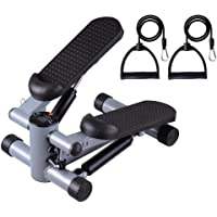 Yescom Aerobic Mini Stepper Step Machine Air Stair Climber Exercise Cardio Fitness Home Black
