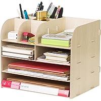 LONTG Caja de almacenamiento Organizador de escritorio