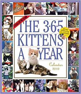 The 365 Kittens a Year Calendar 2010 (Picture-A-Day Wall Calendars): Workman Publishing: 9780761153368: Amazon.com: Books