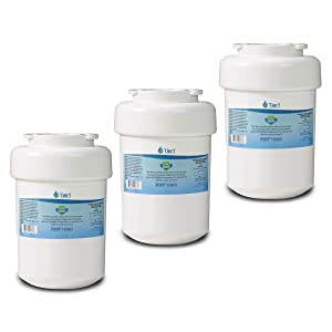 Tier1 Replacement for GE MWF SmartWater, MWFP, MWFA, GWF, GWFA, HWF, Kenmore 9991, 46-9991, 469991 Refrigerator Water Filter 3 Pack