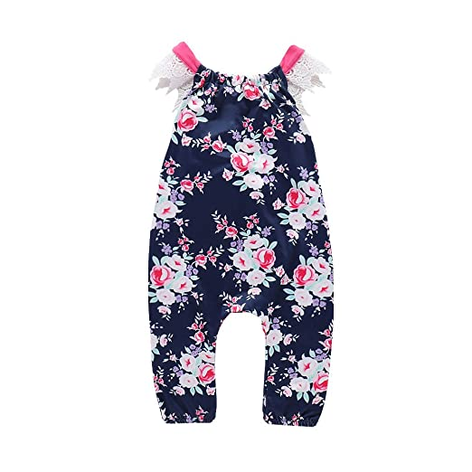 20b1a2b94 Amazon.com  Yamally 9R Baby Girl Rompers 0-24M Baby Girls Rompers ...