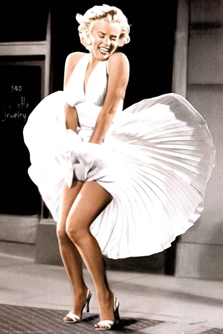 30e8d4f2068 Image Unavailable. Image not available for. Color  gb Marilyn Monroe Skirt  Blowing ...