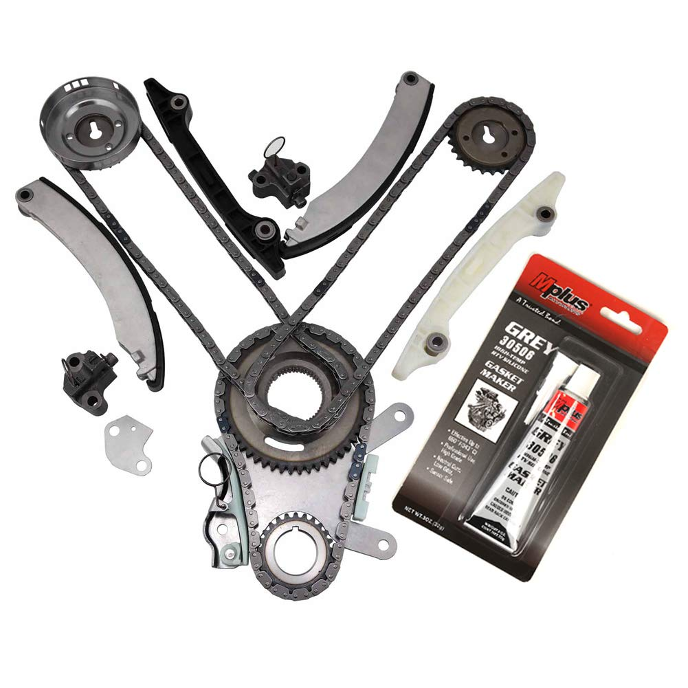 MOCA Timing Chain Kit for 2004-2013 Jeep Liberty & Dodge Durango & Dodge Dakota Ram 1500 & Jeep Grand Cherokee 3.7L V6 SOHC 12V K OELINE Auto Parts