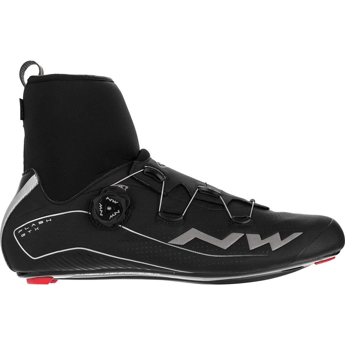 NORTHWAVE メンズ ロードサイクリングシューズ FLASH GTX ブラック 46 EU  B06Y5MJ691