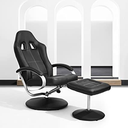 HOMY CASA Homycasa Leisure Office Recliner Chair Ergonomic Design Racing  Style Task Chair High Back