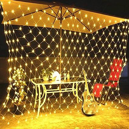 MINGER LED Fairy String Decorative Net Lights Net Mesh Tree-wrap Lights for  Indoor Outdoor - Amazon.com: MINGER LED Fairy String Decorative Net Lights Net Mesh