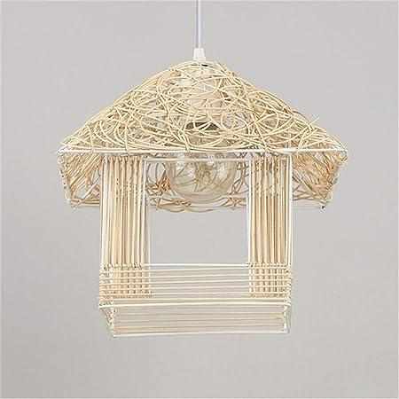WarmHome Rota Araña de Jaula de pájaros Forma de la casa E27 ...