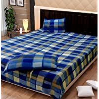 Exotic Home Fleece Double Bed Sheet Set