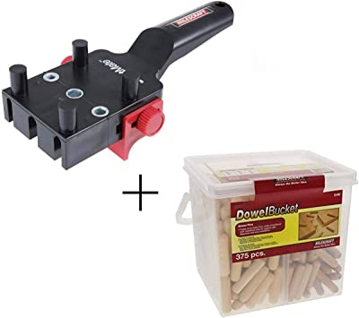 3//8 inch Glue Pins 5//16 Milescraft Wood Dowel Joiner Joint Pins 375 Pieces 1//4