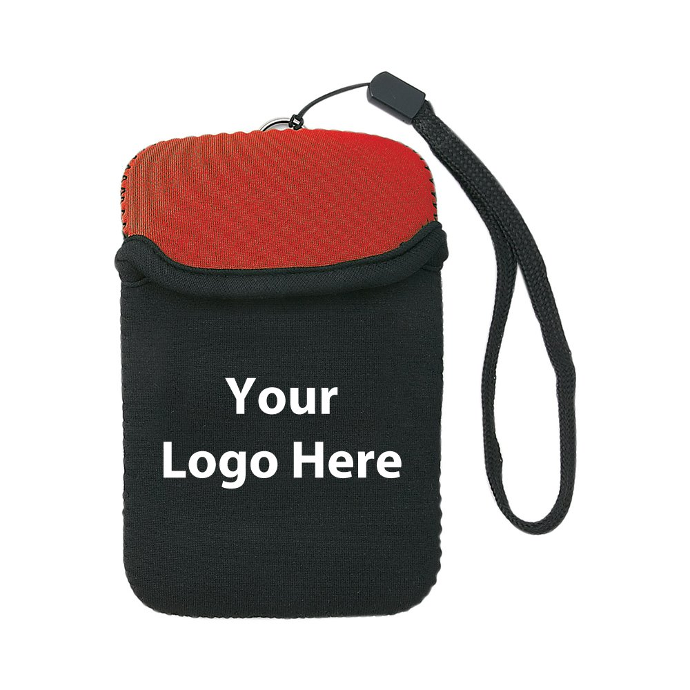 CLOSEOUT - Neoprene Media Device Case - 150 Quantity - $1.75 Each - PROMOTIONAL PRODUCT / BULK / BRANDED with YOUR LOGO / CUSTOMIZED