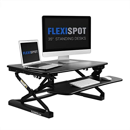Amazoncom FlexiSpot Stand up Desk 35 Height Adjustable Standing